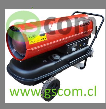 Turbocalefactor Diesel KOSNER 50 KW GSCOM