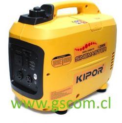 GENERADOR DIGITAL GASOLINA KIPOR IG2000 2 KW