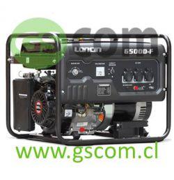 GENERADOR A GASOLINA LONCIN PARTIDA ELÉCTRICA LC 6500DF 5.5 Kw