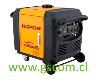 GENERADOR DIGITAL GASOLINA KIPOR IG3000 3 KW