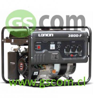 GENERADOR GASOLINA LONCIN LC 3800F 3.1 Kw