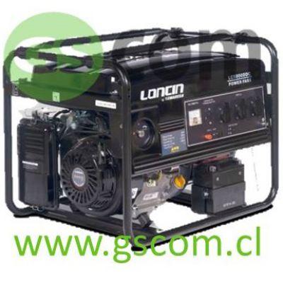 GENERADOR GASOLINA LONCIN LC 5000 DDC 4.5 Kw