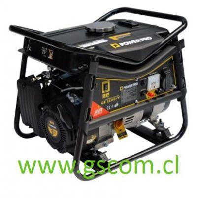 GENERADOR GASOLINA POWER PRO GE1100-V 1,1 KW