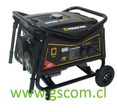 GENERADOR GASOLINA POWER PRO GE5500-V 5,5 KW