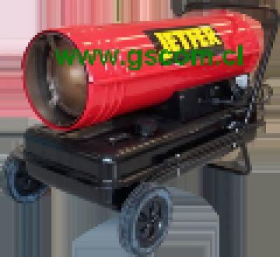 Generador de Aire Caliente, Turbo Calefactor Industrial, DC 40
