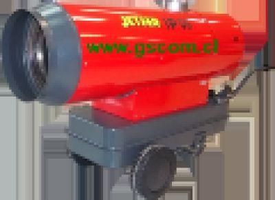 Generador de Aire Caliente, Turbo Calefactor Industrial, DP 70