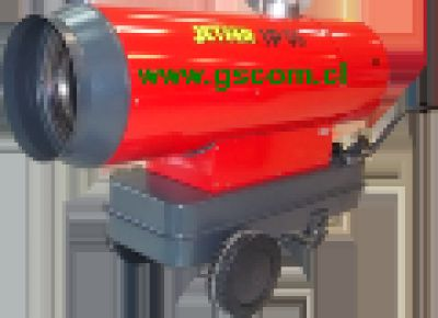Generador de Aire Caliente, Turbo Calefactor Industrial, IP 55