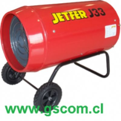 Generador de Aire Caliente, Turbo Calefactor Industrial, J 33