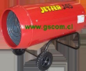 Generador de Aire Caliente, Turbo Calefactor Industrial, J 45
