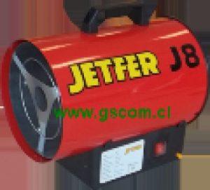 Generador de Aire Caliente, Turbo Calefactor Industrial, J 8