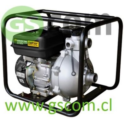 MOTOBOMBA GASOLINA 3 POWER PRO GWP30F 13HP