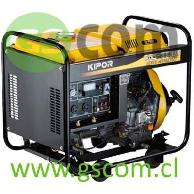 MOTOSOLDADOR KIPOR KDE5000EW 160A