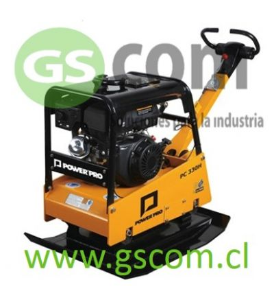 PLACA COMPACTADORA HIDRÁULICA POWER PRO PC-330H 10HP