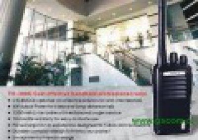 RADIOTRANSMISOR PORTATIL MARCA ABELL MODELO TH-308G UHF 3,5W