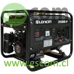GENERADOR GASOLINA LONCIN LC 3500F 3.1 KW