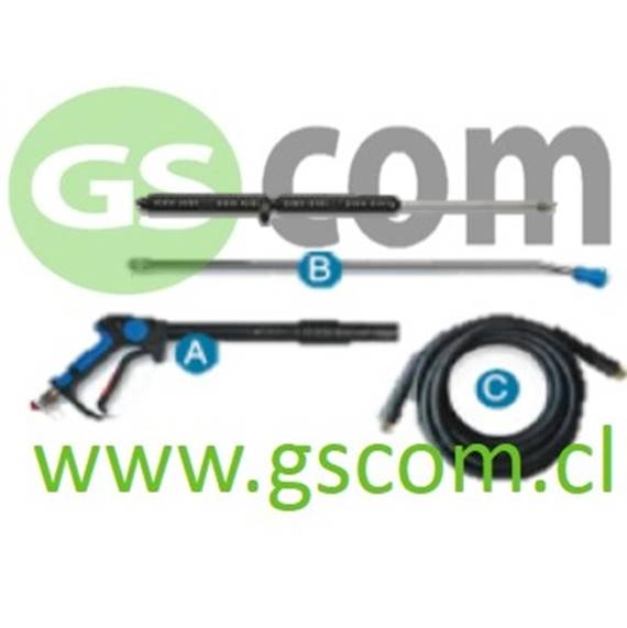 HIDROLAVADORA PULITECNO HYNOX 130.10 2,7 KW