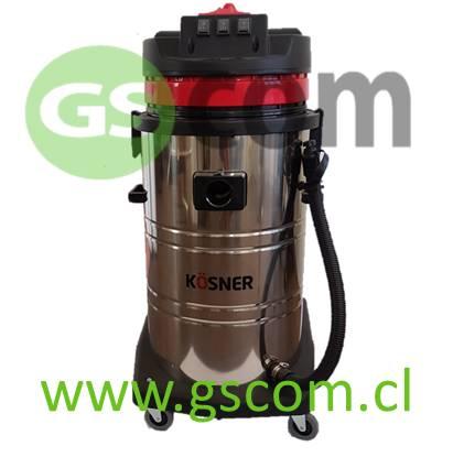 Aspiradora Industrial para Polvo y Agua Kösner KSN801