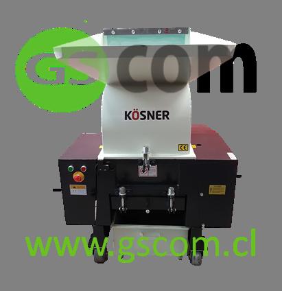 Máquina Chipeadora Trituradora de Plástico Kösner KSN-400