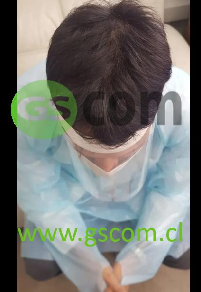 protector facial- vista superior-gscom